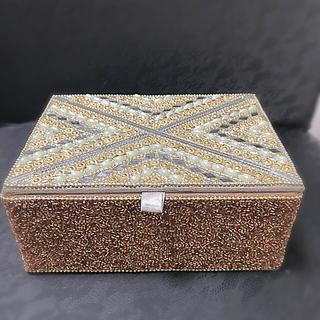 Francfranc - フランフラン 収納ボックス キラキラビーズ 新品未使用
