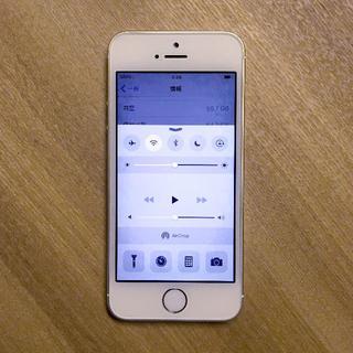 Apple - iPhone5s 64GB シルバー