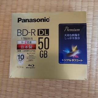 パナソニック(Panasonic)のパナソニック 録画用2倍速ブルーレイ片面2層50GB(追記型)10枚 (その他)