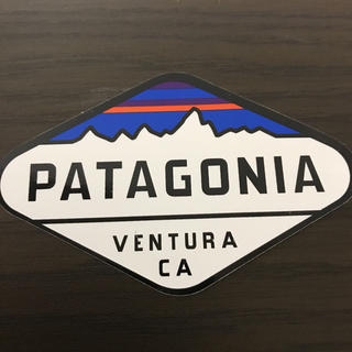 patagonia - 【縦5.7cm横8.8cm】patagonia 公式ステッカー