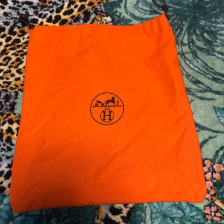 Hermes - エルメス保存袋  巾着