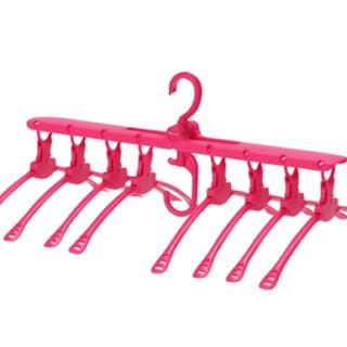 フランフラン(Francfranc)のフランフラン 8連 洗濯 ワンタッチハンガー 折りたたみ(押し入れ収納/ハンガー)