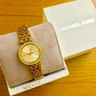 Michael Kors - 【美品!!】MICHAEL KORS 腕時計 ゴールド×シルバー ストーン🎀