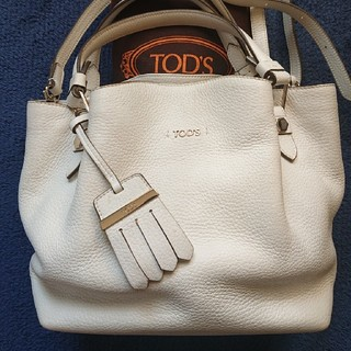 TOD'S - TOD'Sトッズ☆フラワーバック