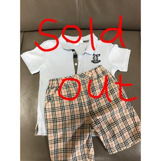 バーバリー(BURBERRY)のバーバリーキッズ2Y  →売り切れ(Tシャツ/カットソー)