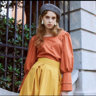 リリーブラウン(Lily Brown)のlily brown デザインブラウス シャツ オフショル(シャツ/ブラウス(長袖/七分))