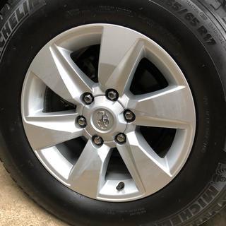 トヨタ(トヨタ)のプラド 純正 17インチ タイヤ ホイール 150 後期 1本(タイヤ・ホイールセット)