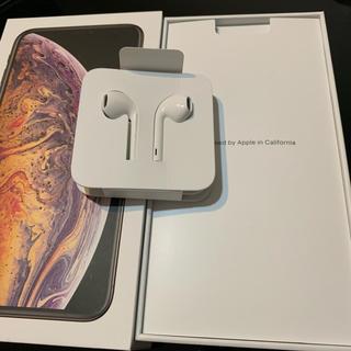 アイフォーン(iPhone)のiphoneイヤホン 正規品(ヘッドフォン/イヤフォン)