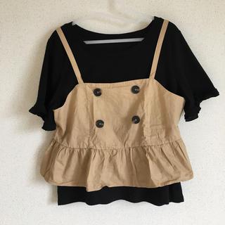 シマムラ(しまむら)の3L ビスチェセット(Tシャツ(半袖/袖なし))