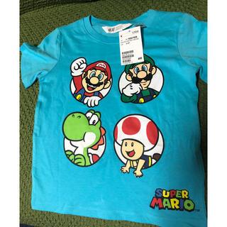 H&M - マリオ♡Tシャツ