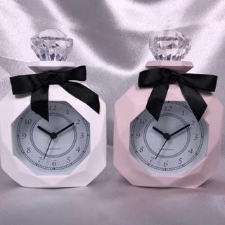 フランフラン(Francfranc)の【新品】パヒューム型置時計2カラーセット(置時計)