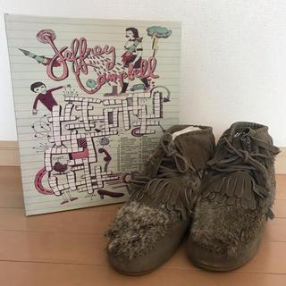 ジェフリーキャンベル(JEFFREY CAMPBELL)の新品★ジェフリーキャンベル ショートブーツ 38サイズ 定価16,200円(ブーツ)