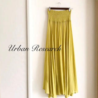 URBAN RESEARCH - 未使用美品♡アーバンリサーチ シャーリングマキシスカート