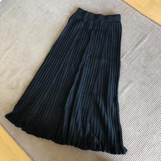プリーツスカート ロングスカート(ロングスカート)