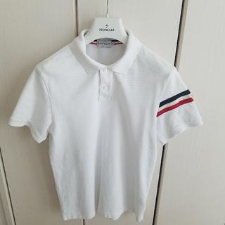 モンクレール(MONCLER)のモンクレール ポロシャツ/ホワイト(ポロシャツ)