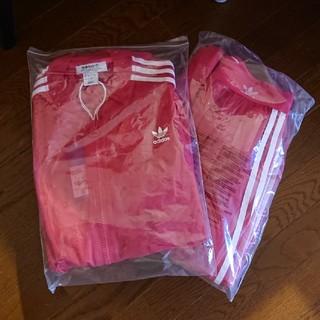 adidas - adidas トラックトップ  ピンク ジャケット、スカート2点セット