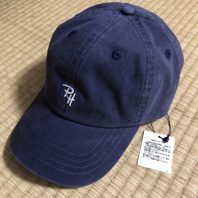 Ron Herman(ロンハーマン)のRONHERMAN RHCロンハーマンRH ロゴ キャップ ネイビー 横浜限定 メンズの帽子(キャップ)の商品写真