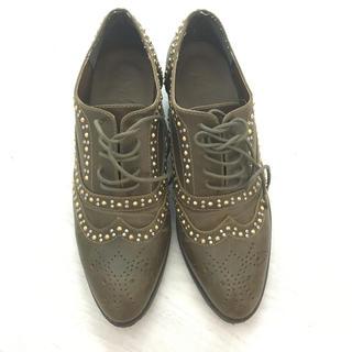 アングリッド(Ungrid)のungrid スタッズシューズ(ローファー/革靴)