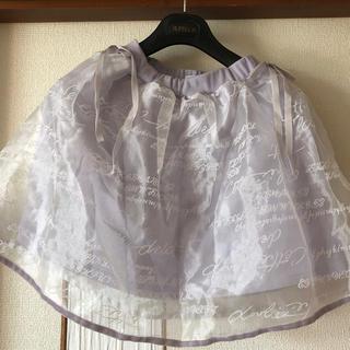 リズリサ(LIZ LISA)のLIZ LISA リズリサ チュールスカート(ひざ丈スカート)