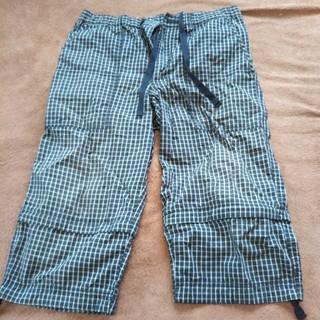 ユニクロ(UNIQLO)のグレンチェックハーフパンツ 裾足しタイプ(ショートパンツ)
