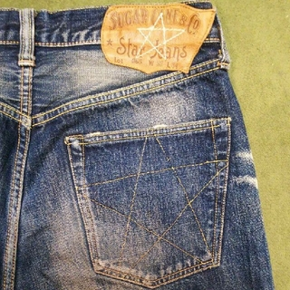 Sugar Cane - SUGAR CANE STAR JEANS Lot065 W32