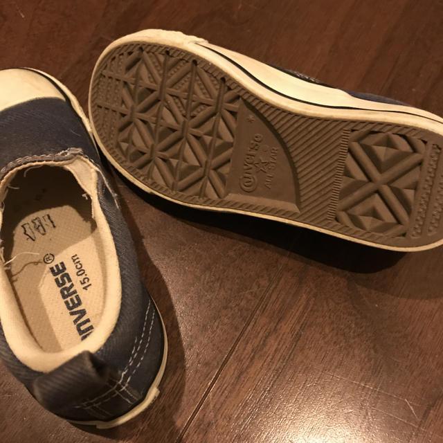 CONVERSE(コンバース)のコンバース スリッポン キッズ/ベビー/マタニティのキッズ靴/シューズ (15cm~)(スリッポン)の商品写真