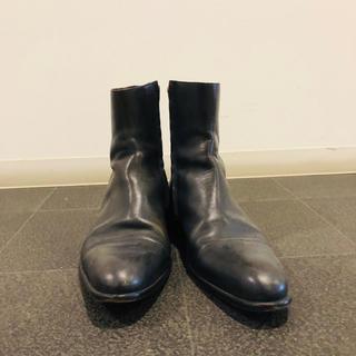 alfredoBANNISTER - ヒールブーツ ブラック 28cm