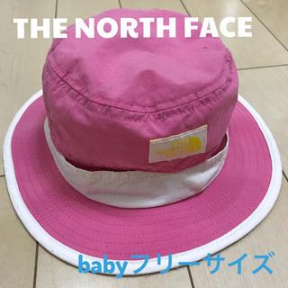 ザノースフェイス(THE NORTH FACE)のTHE NORTH FACE ノースフェイス☆ベビーメッシュ帽子 フリーサイズ(帽子)