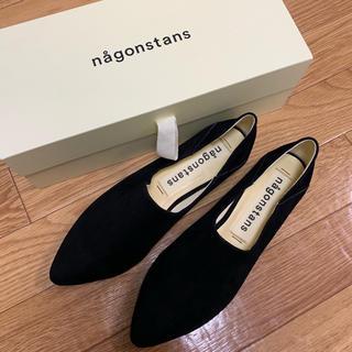 エンフォルド(ENFOLD)のnagonstans  ナゴンスタンス 新作 スエード シューズ バブーシュ(スリッポン/モカシン)