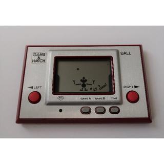ニンテンドウ(任天堂)のGAME&WATCH BALL(携帯用ゲーム本体)