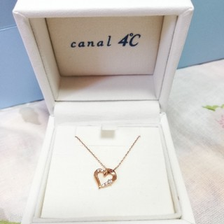 canal4℃ - 4℃ ハートネックレス