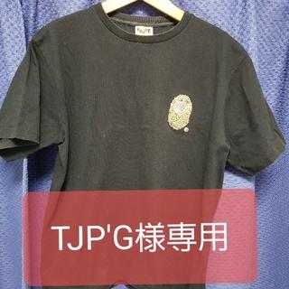 アベイシングエイプ(A BATHING APE)のア ベーシング エイプ猿ラインストーンXL(Tシャツ/カットソー(半袖/袖なし))