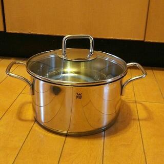 ヴェーエムエフ(WMF)の【新品】WMFヴェーエムエフ 両手鍋 20cm 3.3L(鍋/フライパン)