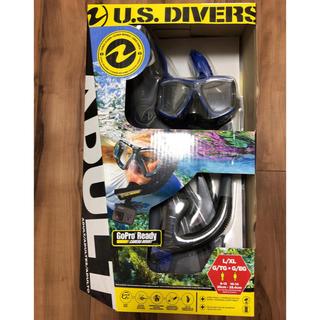 コストコ(コストコ)のコストコ US Divers 大人用スノーケリング3点セット (マリン/スイミング)