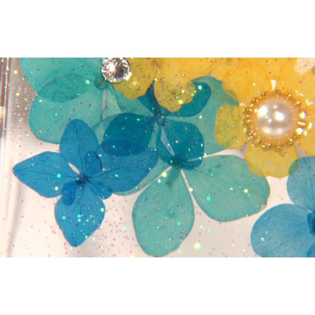 夏の花 ハンドメイドのスマホケース/アクセサリー(スマホケース)の商品写真