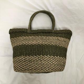 ムジルシリョウヒン(MUJI (無印良品))の無印良品 カゴバッグ(かごバッグ/ストローバッグ)