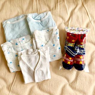 Combi mini - 新生児 肌着5点 靴下
