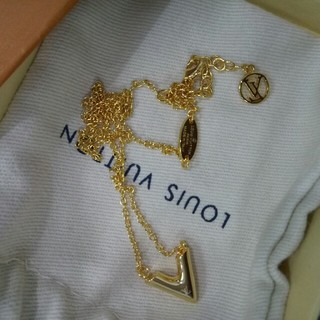 ルイヴィトン(LOUIS VUITTON)の美品 Louis Vuitton ルイヴィトン ネックレス (ネックレス)