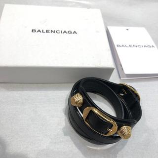 バレンシアガ(Balenciaga)のBALENCIAGA バレンシアガ レザーブレスレット (ブレスレット/バングル)