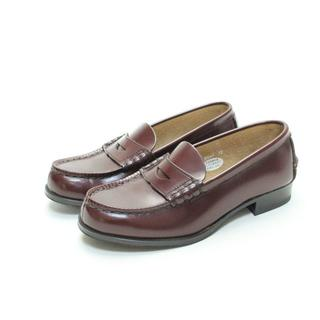 HARUTA 本革コインローファー(22cm3E)超美品(ローファー/革靴)