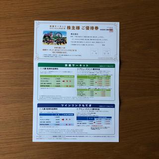 ホンダ(ホンダ)のホンダ株主優待券一枚(遊園地/テーマパーク)