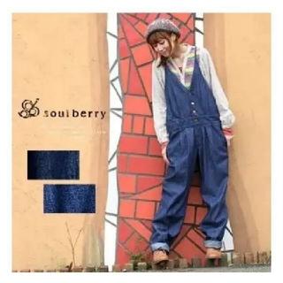 ソルベリー(Solberry)の【21時までタイムセール】soulberry サロペット M(サロペット/オーバーオール)