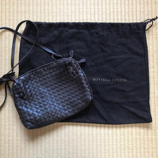 Bottega Veneta - 26日まで》BOTTEGA VENETA ショルダーバッグ ダークブラウン