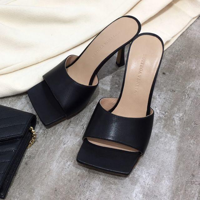 Bottega Veneta(ボッテガヴェネタ)のBottega Veneta  靴/シューズ サンダル ハイヒール 黒 36 レディースの靴/シューズ(サンダル)の商品写真