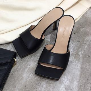 Bottega Veneta - Bottega Veneta  靴/シューズ サンダル ハイヒール 黒 36