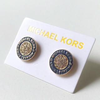 マイケルコース(Michael Kors)のマイケルコース ピアス14 ブラック(ピアス)