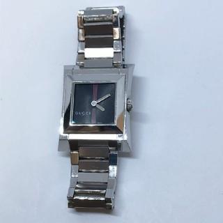 グッチ(Gucci)の【GUCCI グッチ】111L レディース腕時計 シェリーライン スクエア 美品(腕時計)