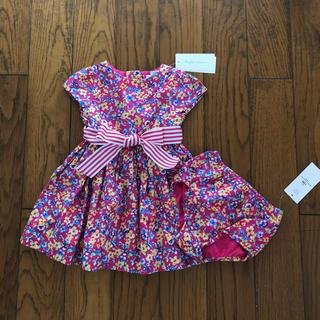 Ralph Lauren - Ralph Lauren今期新品ベビー用ワンピース ドレス 12M