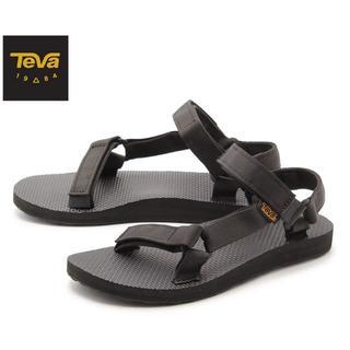 Teva - Teva テバ サンダル レディース オリジナル ユニバーサル 黒