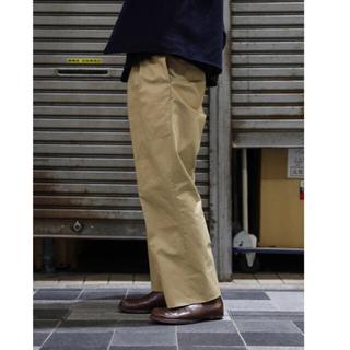 COMOLI - NEAT LOFTMAN 別注ワイドパンツ NEAT ニート VENTILE